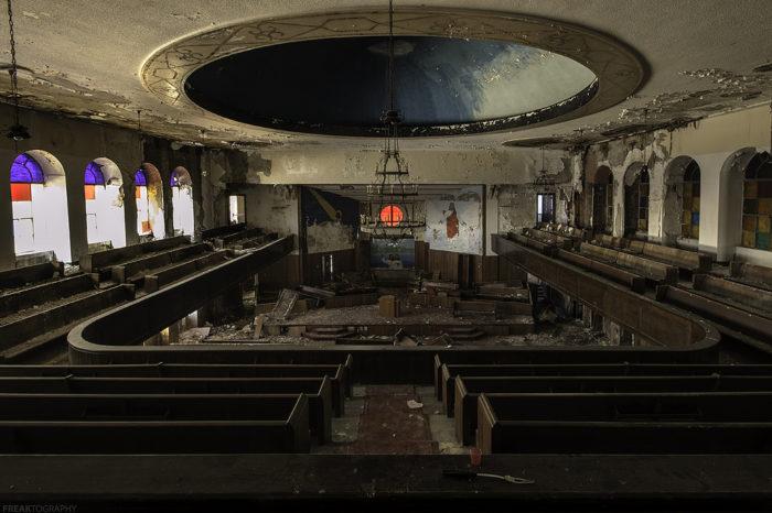 14. Abandoned Church, Michigan