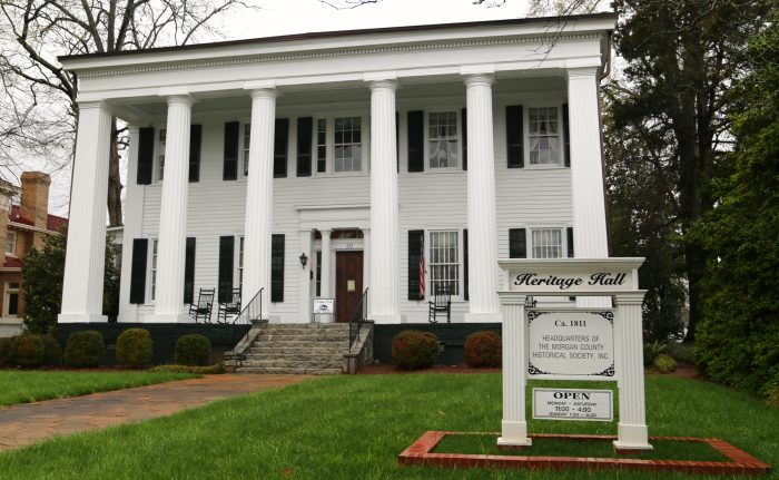 2. Look back at history through the antebellum architecture.