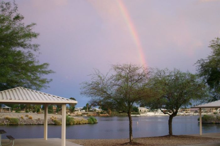 It's a wonderful oasis along the shores of the Colorado River.