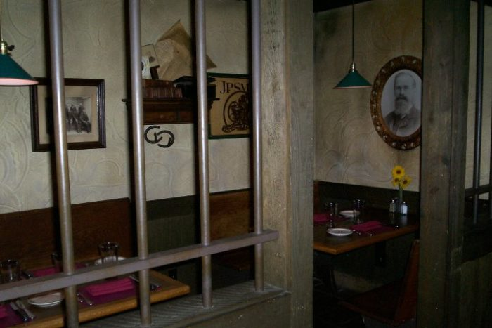 Cellblock Steakhouse cell
