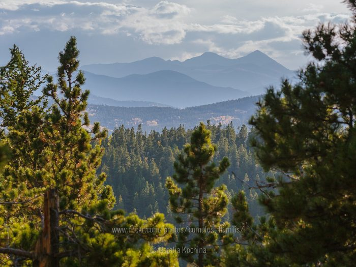 Drink in breathtaking vista views from trail overlooks and the famed Panorama Point, where you can see 100 miles of the Continental Divide.