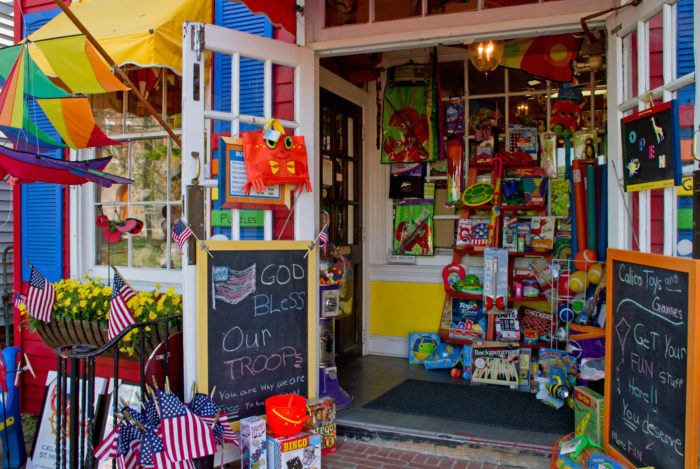 Filled with toys, souvenirs, nautical decor and more, you're sure to find something you love.