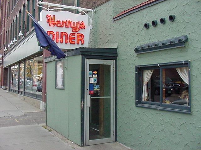 9.  Henry's Diner - 155 Bank St, Burlington