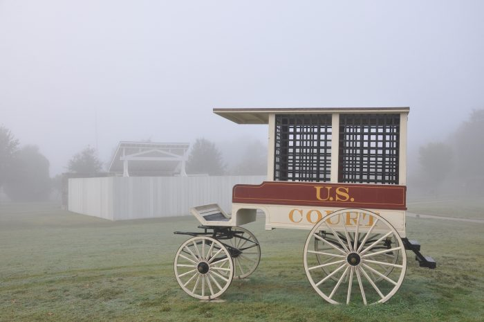 The National Historic Site at Fort Smith does all it can to keep the memory of Fort Smith's grimmest period alive.