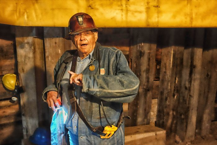 8. Check out an old copper mine on a tour led by former miners.
