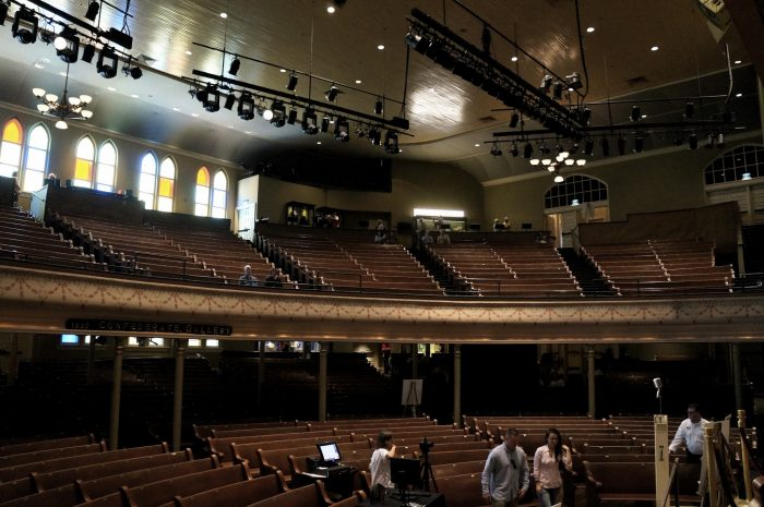 4. Finally take that tour of the Ryman you've been curious about.