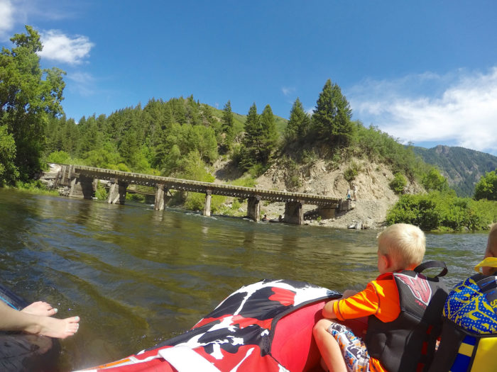 Watch out for the Heber Creeper Bridge!