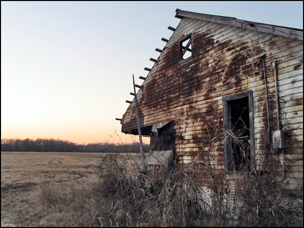 2. You can't see this abandoned house anymore...