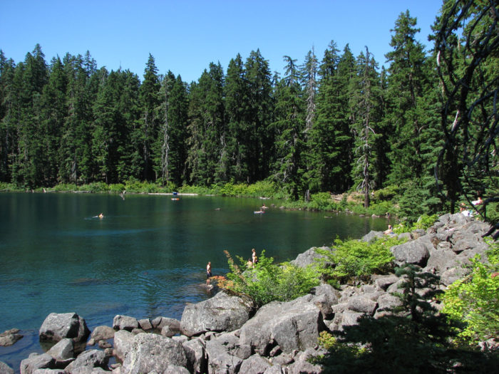 4. Buck Lake