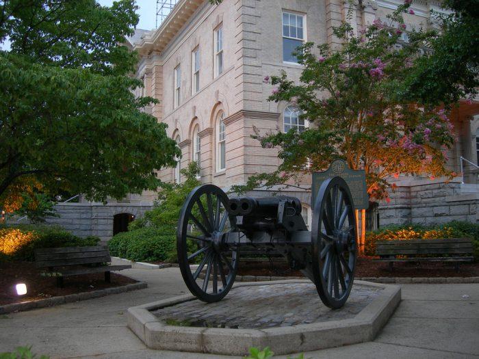 14. Visit the Athens Double-Barrel Cannon