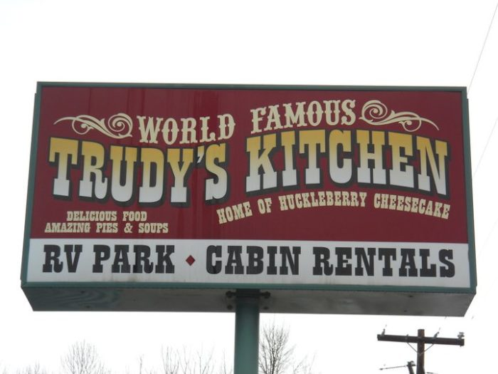 3. Grab a slice of world-famous pie at Trudy's Kitchen in Idaho City.