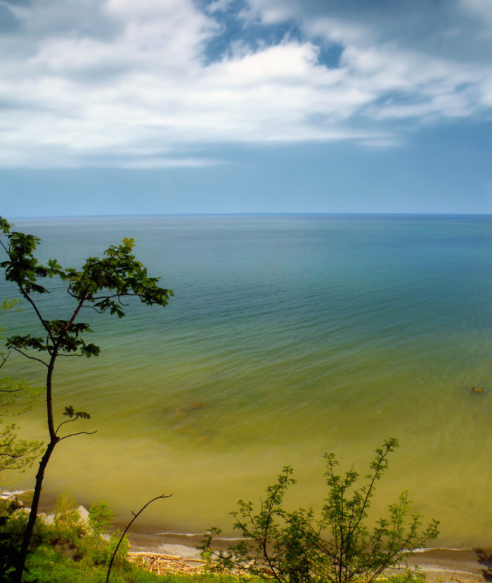 The newest state park sits only 12 miles west of Erie.