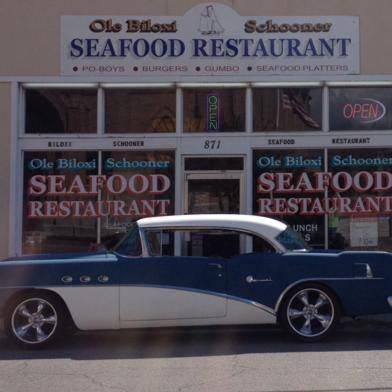 About six months before Katrina, the restaurant's owner, Joseph Lancon, was out running errands and ran out of gas at 871 Howard Avenue in Biloxi, which just so happened to be for sale.