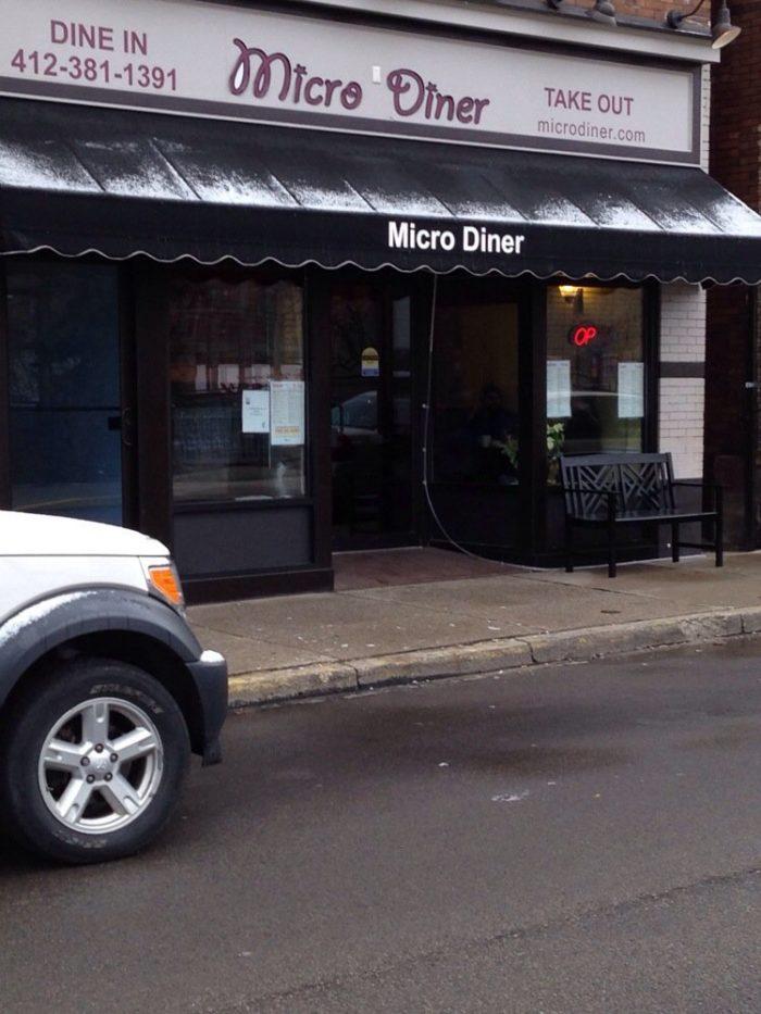 2.  Micro Diner - 221 Shiloh St  Street