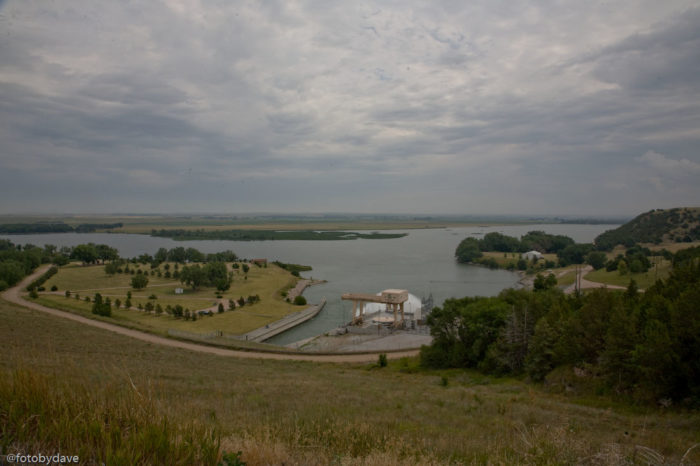 2. You'll drive past Lake McConaughy, Nebraska's largest lake and top water attraction.