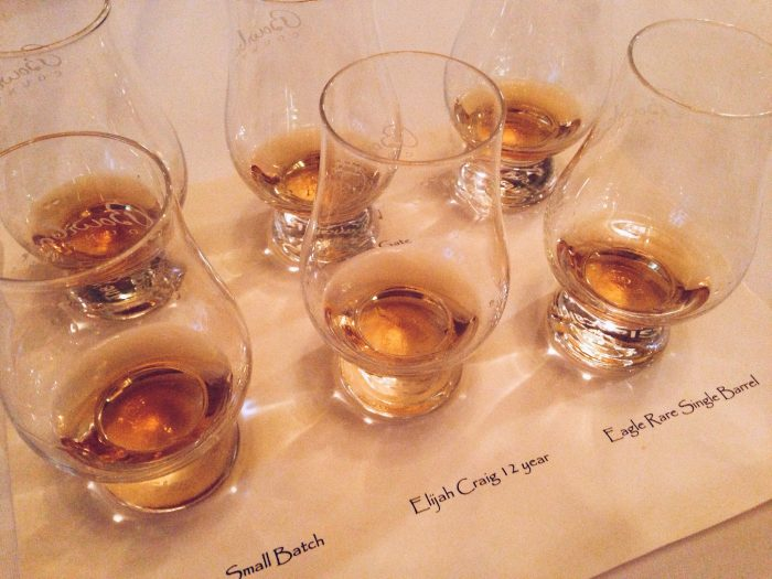 2. Brown Hotel Bourbon Flight