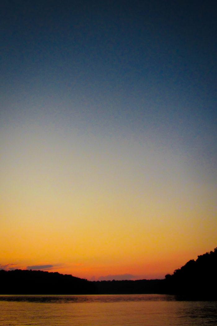 2. Sunset or sunrise