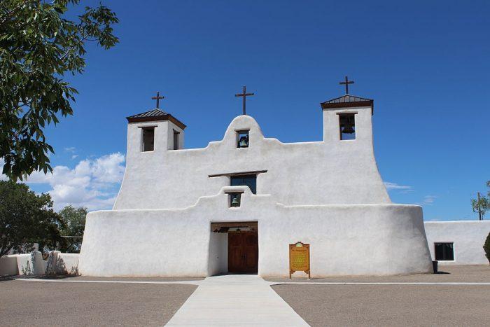 1. Mission San Agustín de la Isleta