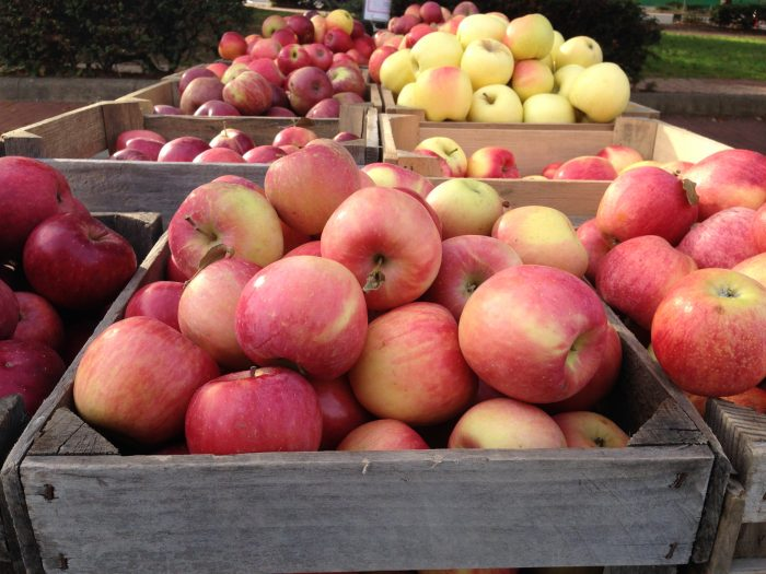 9. Apples