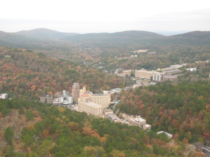 5. Our gorgeous, restorative  resort town, Hot Springs, is located in the Ouachita Mountain Range.