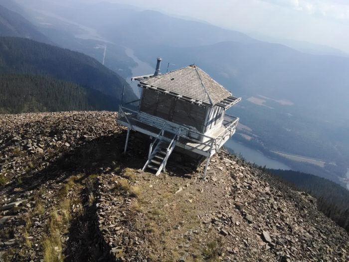 2. Stay the night in a historic fire lookout.