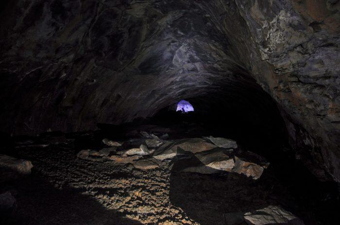 Visit The Lava River Tube In Northern Arizona
