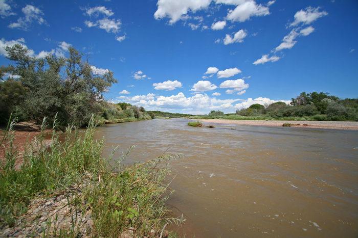 8. Cross the Rio Grande.