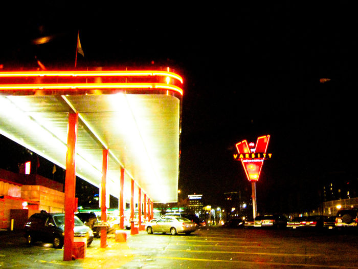 8. We also have the largest Drive-In in the world. So you're welcome, U.S.A..
