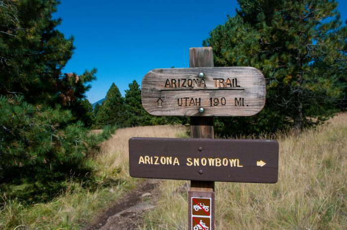 2. Want something more intense? Take a couple of months to hike the Arizona Trail.