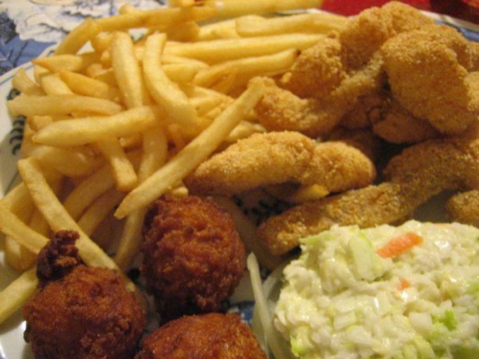 9. They complain about all the fried food.