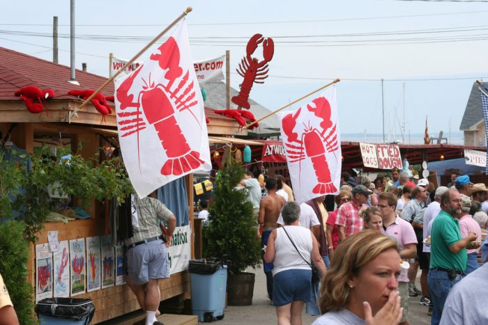 11. Celebrate lobster where it was meant to be celebrated.