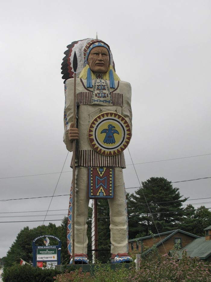 11. The Big Indian (or, the BFI, as it's known locally), Freeport