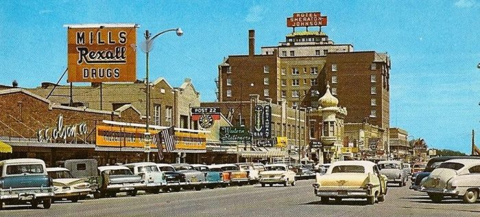 1. Downtown Rapid City, 1959