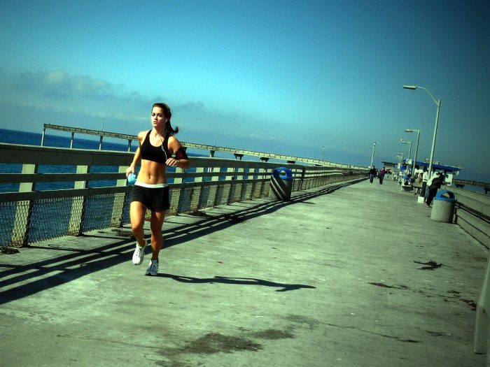 11. A fitness routine