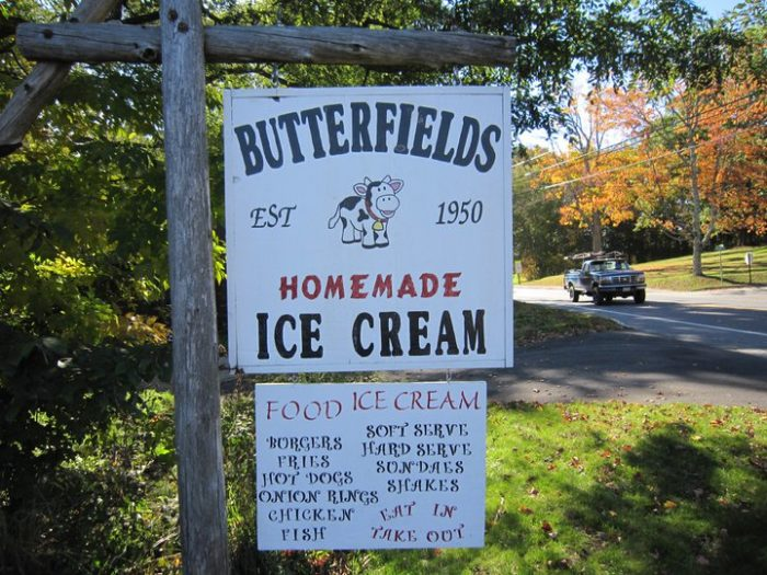 6. Butterfield's Ice Cream, Dover-Foxcroft