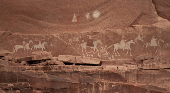 12. During the Navajo Wars in the 1860s, Canyon de Chelly was considered a Navajo stronghold. 1864 was a pivotal year, however, as that was the year Colonel Kit Carson and the U.S. Army led attacks on the area, scorched earth campaigns, and eventually forced relocation and internment once homes and resources were gone across Navajo homeland.