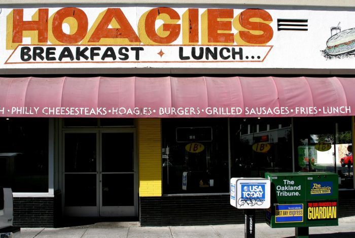 9. Can I have a hoagie?