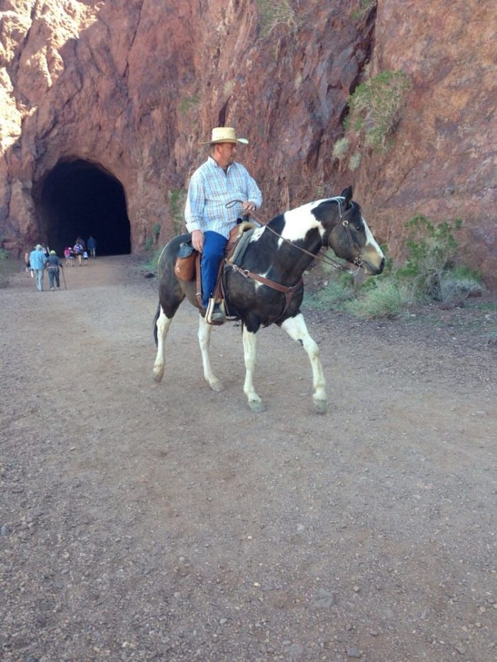 Or horseback riding.