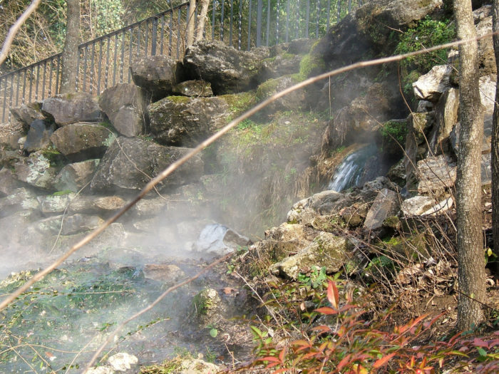 """People have been flocking to the hot springs for centuries, long before European settlement of the area. It was called """"Valley of the Vapors"""" by the Native Americans who frequented the springs."""