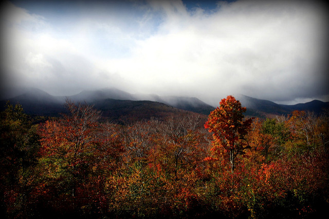 6. Drive along the Kancamagus Highway. The wilder the weather, the more official you are.