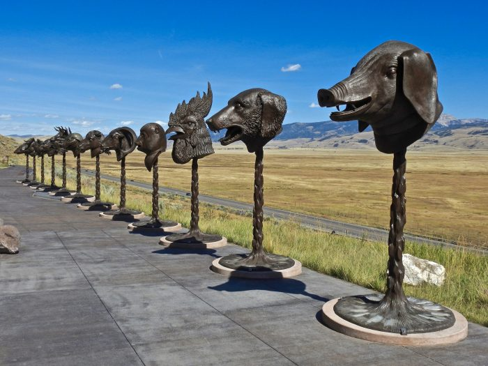 6. Sculptures Of Zodiac Signs