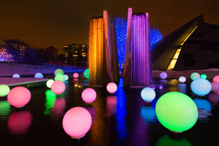 18. Marveled at the Blossoms of Light at the Denver Botanic Gardens during the holidays.
