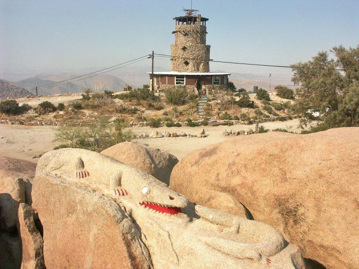 7. Desert View Tower -- Jacumba