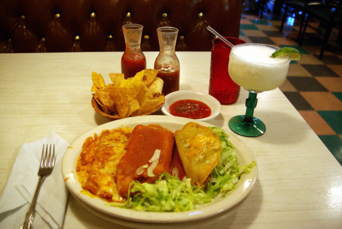 9. Finally get a bite of some delicious Mexican food.