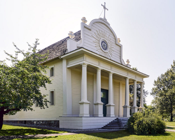 1. Visit Coeur d'Alene's Old Mission State Park in Cataldo.