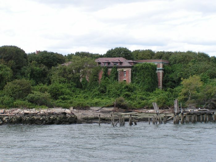 In 1885, North Brother Island first became inhabited when New York City's Riverside Hospital was relocated here.