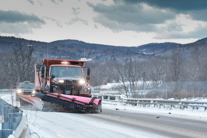 13.  With Vermont's unpredictable winters, we can plow better than anyone else...