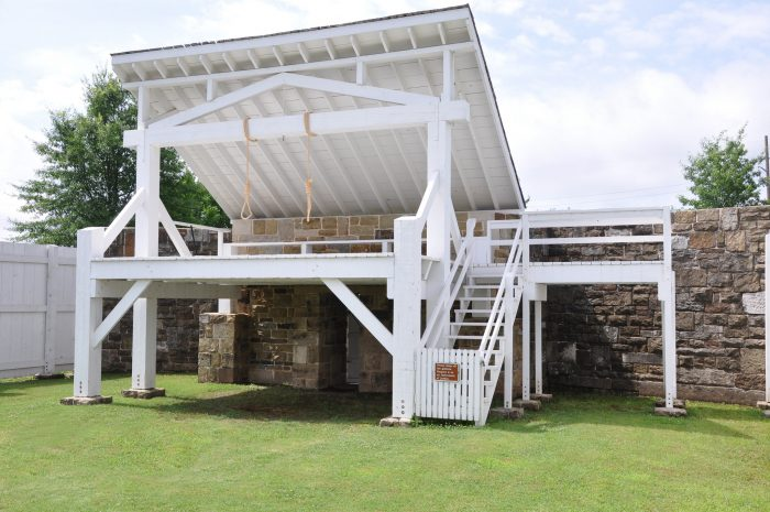 These gallows are a great place to learn about one of the most interesting and grim pieces of Arkansas history.