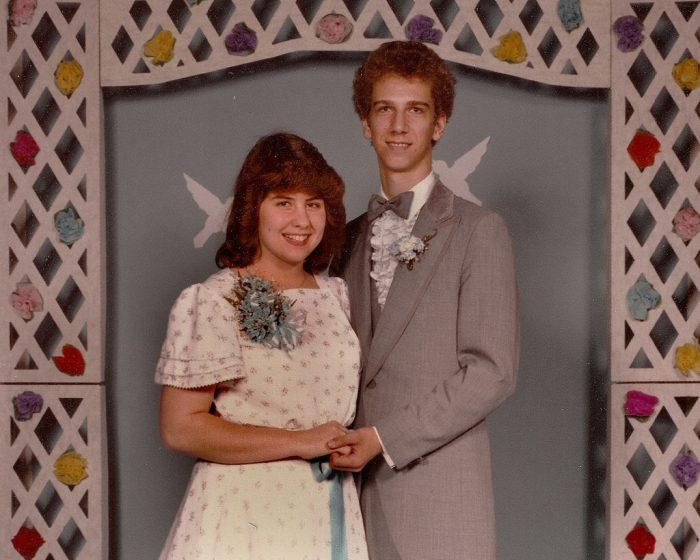 8. Formals were usually held in the school gym and attendees did a promenade or grand march to show off dates, dresses, and hairstyles. The dances also happened right after the big game and ended at 10 p.m.