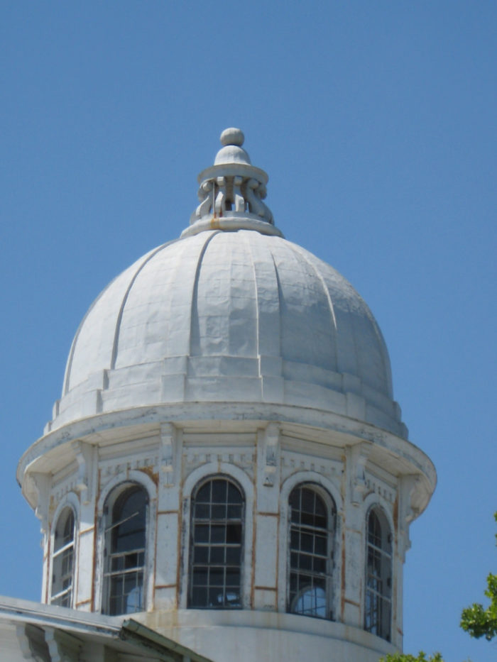 Just a few years after the hospital opened, the founding director, Peter Bryce watched the campus of the University of Alabama burn from this cupola when Union troops set it afire.